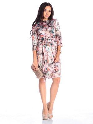 Платье в цветочный принт | 4655856