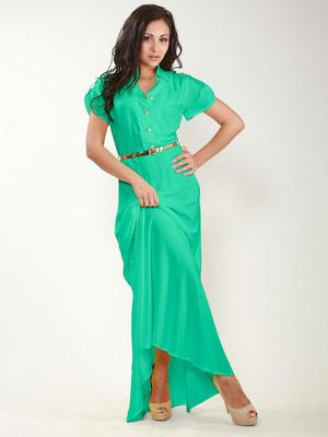 Платье бирюзовое   4683317