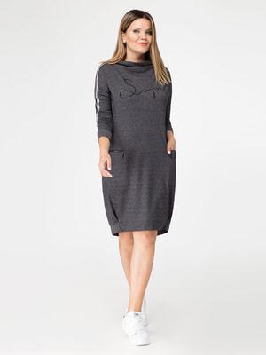 Платье серое | 4647540