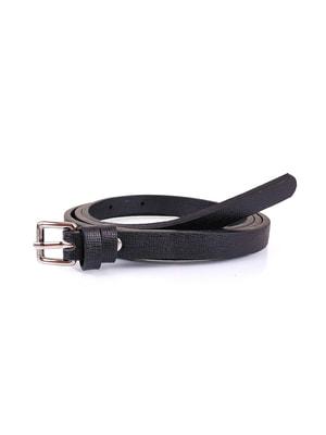 Ремень черный (115 см) | 4672919