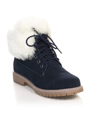 Ботинки темно-синие | 4674670