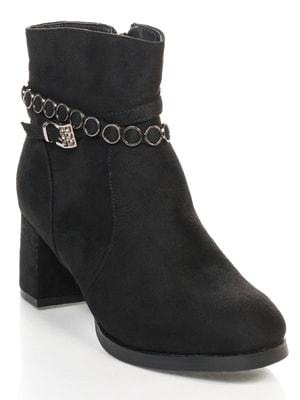 Ботинки черные | 4684235