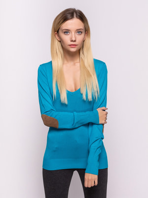 Пуловер блакитний | 4626861