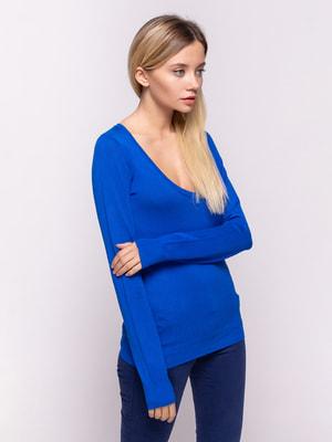 Пуловер синій   4634644