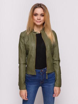 Куртка зеленая | 4626918
