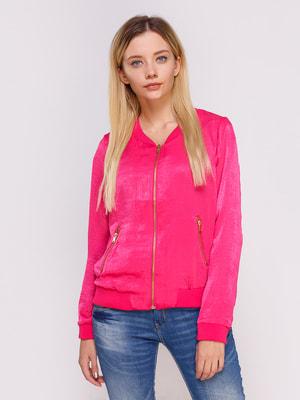 Бомбер розовый | 4627041