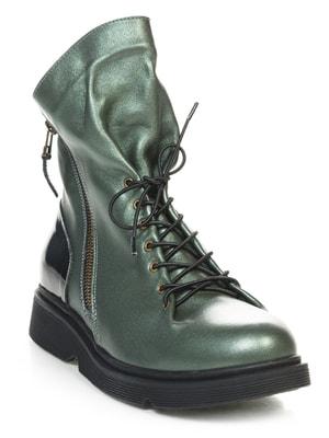 Ботинки зеленые | 4649001