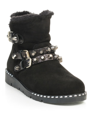 Ботинки черные | 4649005