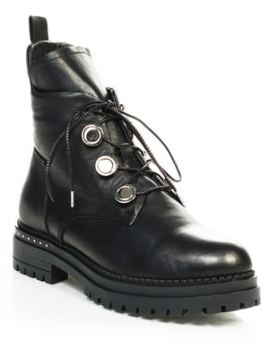 Ботинки черные | 4649007