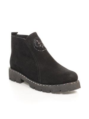 Ботинки черные   4540541