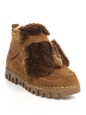 Ботинки цвета хаки | 4609444