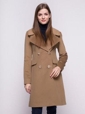 Пальто бежевое | 4683534