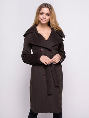 Пальто коричневое | 4683536