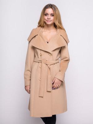 Пальто бежевое | 4683537