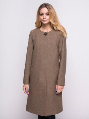 Пальто коричневое | 4683542