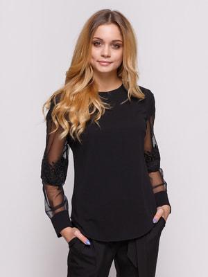 Блуза черная | 4673299