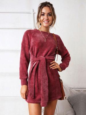 Сукня темно-червона | 4685907
