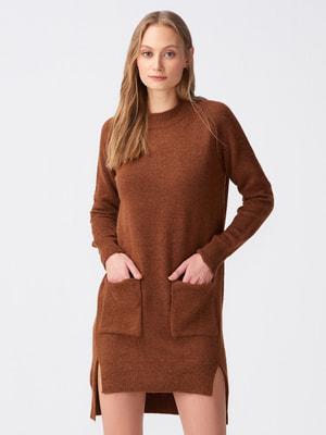 Туніка-сукня коричнева | 4686051