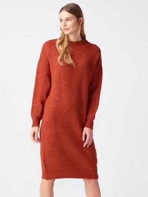 Сукня цегляного кольору | 4686192