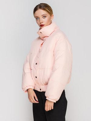 Пуховик рожевий   4679428