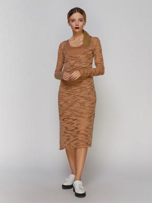 Платье коричневое | 4665235