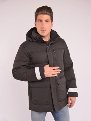 Куртка чорна | 4682476