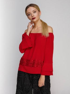 Блуза красная | 4665209
