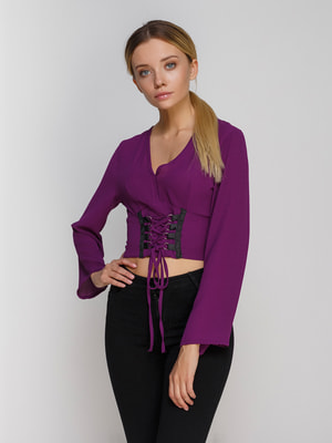 Блуза фиолетовая | 4665210