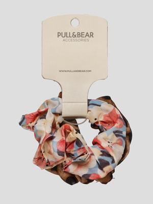 Резинка для волосся в квітковий принт | 4646907