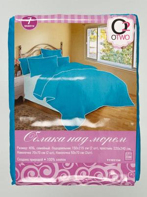 Комплект постельного белья семейный | 4665611