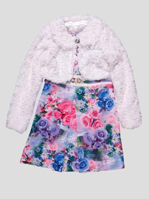 Комплект: сукня і болеро | 4453109