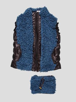Комплект: жилет и сумка | 4462845