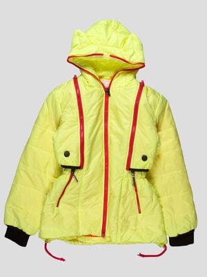 Куртка-трансформер салатова | 4079752