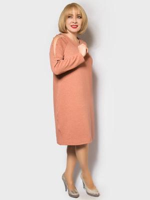 Сукня пудрового кольору | 4688742