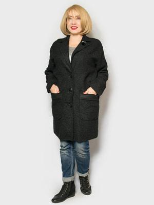 Пальто черное   4688771