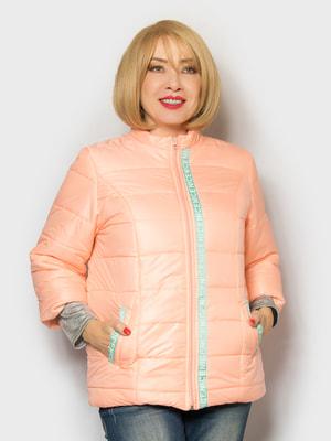 Куртка персикового цвета | 4688800
