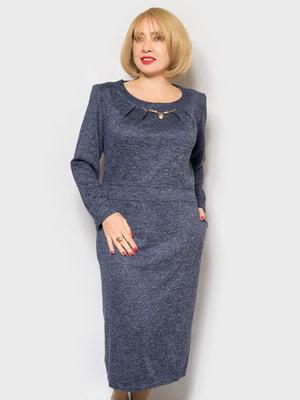 Платье синее   4688802