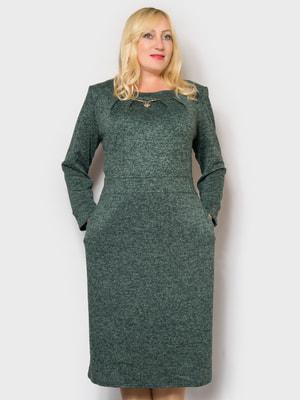 Платье зеленое | 4688806