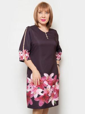 Сукня з квітковим принтом | 4556447