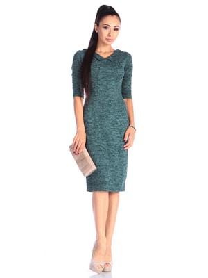 Платье темно-изумрудного цвета | 4636826