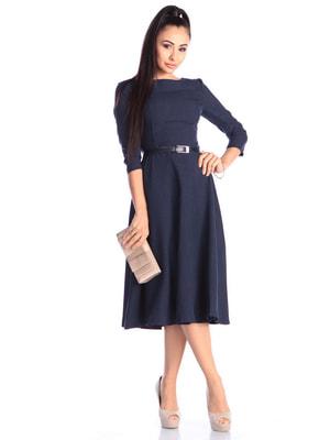Платье темно-синее | 4690423