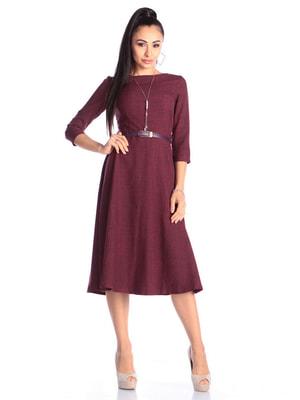 Платье сливового цвета   4690428