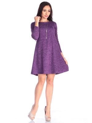 Платье фиолетовое | 4690432
