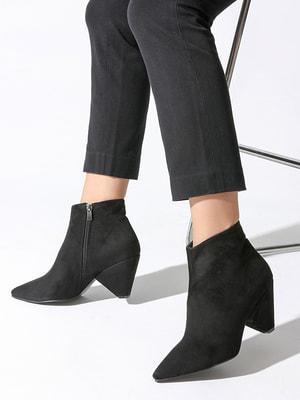 Ботинки черные | 4690945