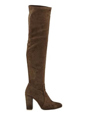 Ботфорти коричневі   4691876