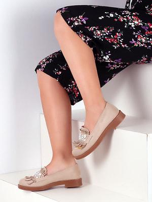 Туфли бежевые   4691905