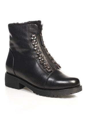 Ботинки черные   4689802