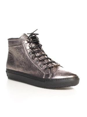 Ботинки серебристые | 4689796