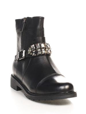 Ботинки черные   4689801