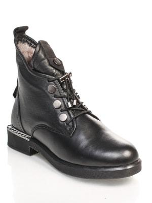 Ботинки черные   4689813